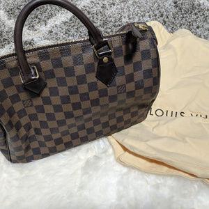 Authentic Louis Vuitton LV Damier Speedy 30